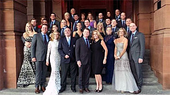2014 USA Team Ryder Cup Team and Wives
