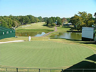 East Lake 18th hole