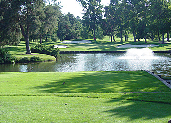 Hillcrest C.C. par three 17th hole