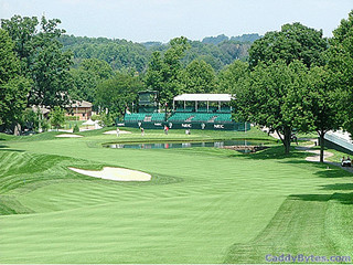 Muirfield Village GC 18th hole