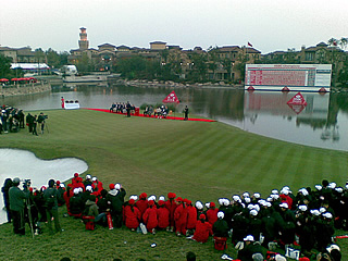 Sheshan GC 18th hole