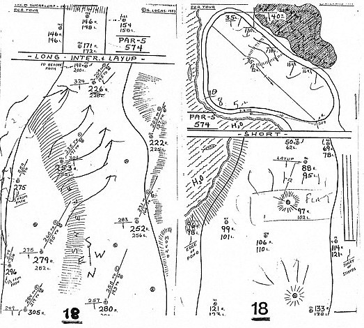 3jack golf blog november 2008 thats what a pga tour quality yardage book looks like this was created by the godfather of the modern day tour yardage book long time tour caddy george solutioingenieria Gallery