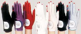 Genuine leather golf gloves for women